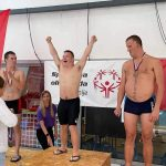 Plavalci z normami za Berlin
